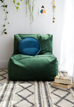 NEW VELVET Lounger Chair 40+ colours 3 sizes (inc gst)