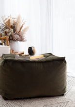 NEW Perfection Velvet Ottoman Collection 40+ colours 2 styles (inc gst)