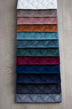 Royal Quilted Velvet  Relaxabag 12+ Colours