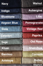100% Linen Giant Floor Cushion 40 Colours