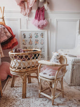 Heirloom Rattan Toy Bassinet & High Chair - ONLY AVAILABLE FOR PERTH PICK UP