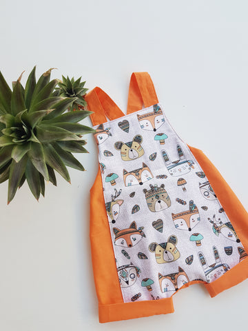 Tribal Animal Overalls
