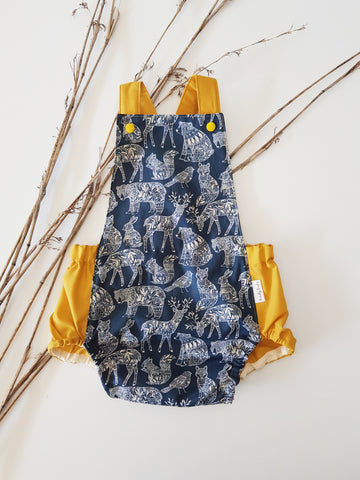 Golden Woodland Romper