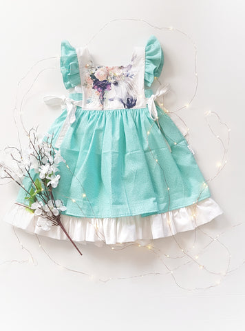 Magical Unicorn Vintage Dress