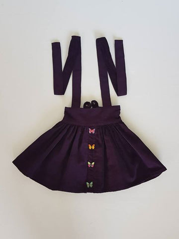 Butterfly Suspender Skirt