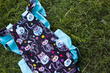 Day of the Dead Cat Romper
