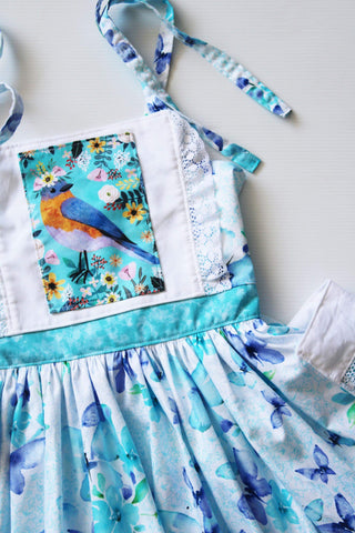 Little Blue Bird Dress