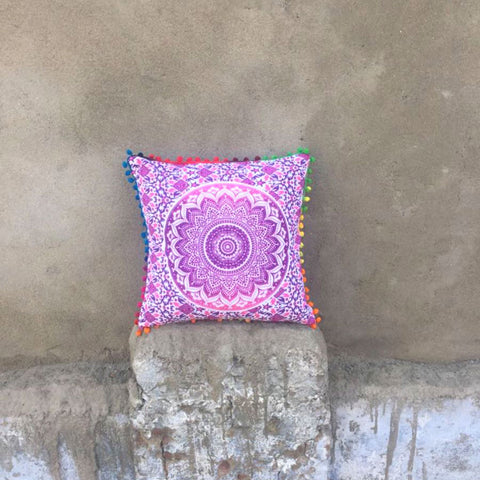 Pink & Purple Ombre Cushion Covers
