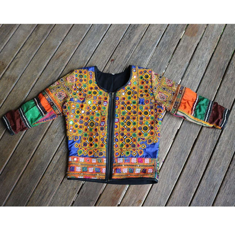 Vintage Banjara Jacket No. 4 (Medium)