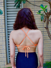 Orange Bikini Crop Top - NOTH!NG