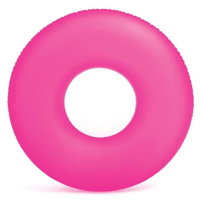 Frosted Matte Ring Floats- Pink (For Adults) - NOTH!NG