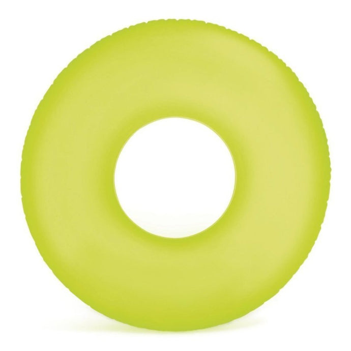 Frosted Matte Ring Floats- Green (For Adults) - NOTH!NG