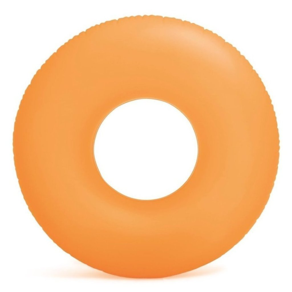 Frosted Matte Ring Floats- Orange (For Adults) - NOTH!NG