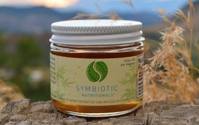 Symbiotic Hemp™: Organic 500mg Hemp Extract in Coconut Oil
