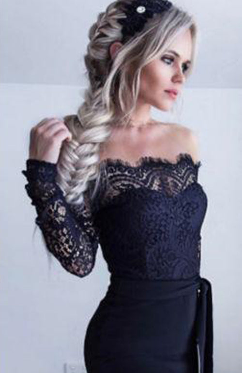 Super Elegant Sexy Fashion Lace Patchwork Embroidery Jumpsuit