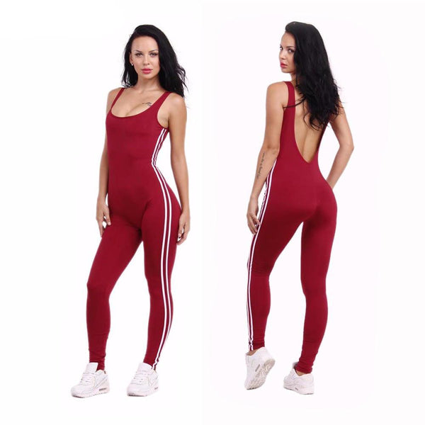 Sexy U-Neck Backless Sport Wear - Lizachic