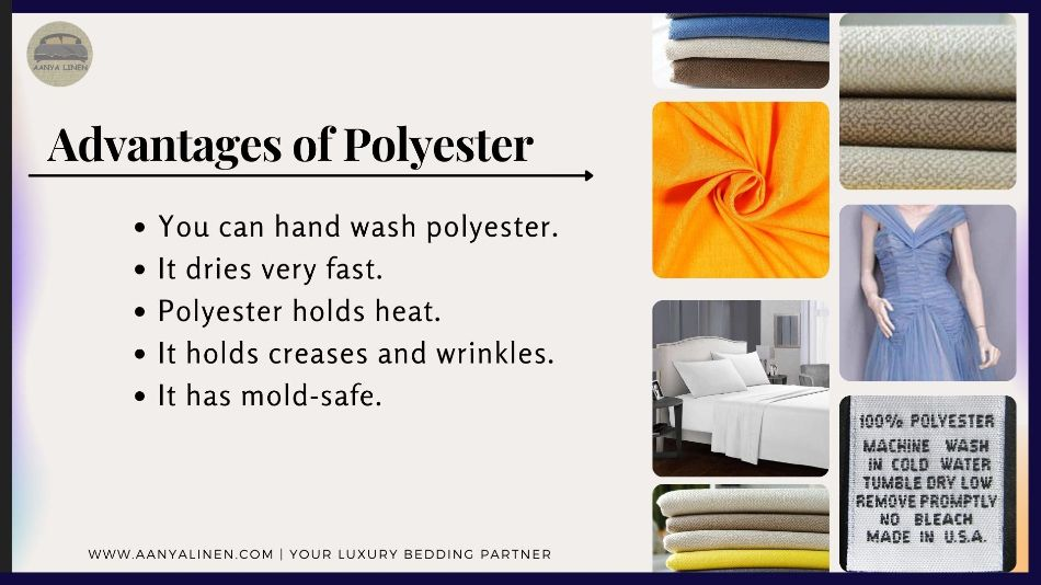 Advantages of Polyester