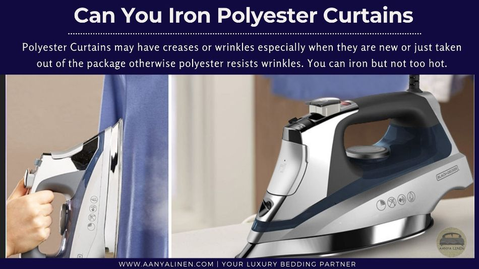 Can You Iron Polyester Curtains
