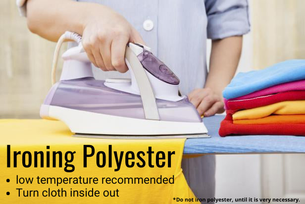 Can You Iron Polyester