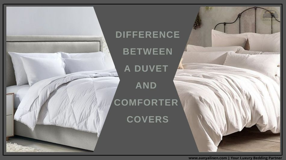 Difference Between Duvet and Comforter cover