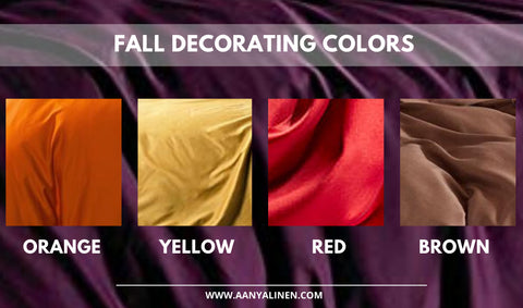 Fall Colors For Bedding