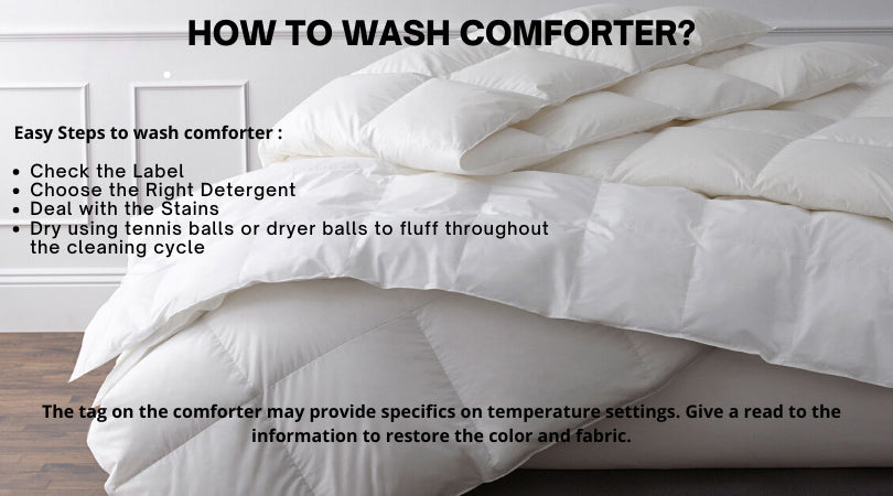 How To Wash Comforter