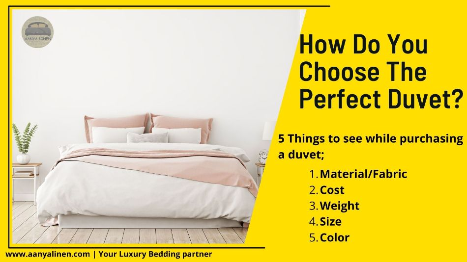 How Do You Choose the Right Duvet for You