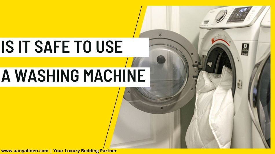 Is It Safe to Use a Washing Machine
