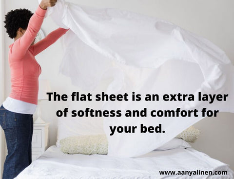 Using Flat Sheet for sleep
