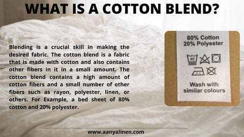 What is a cotton blend