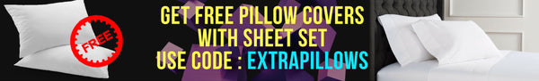 Flat Sheet and PIllowcase
