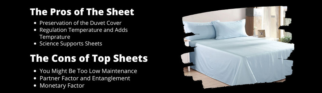 Pros and cons of flat sheet