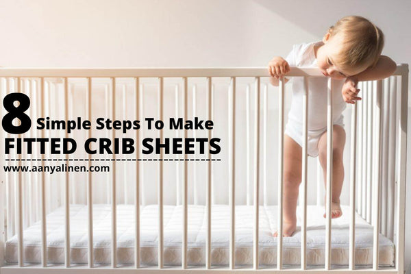 simple steps to make fitted crib sheets