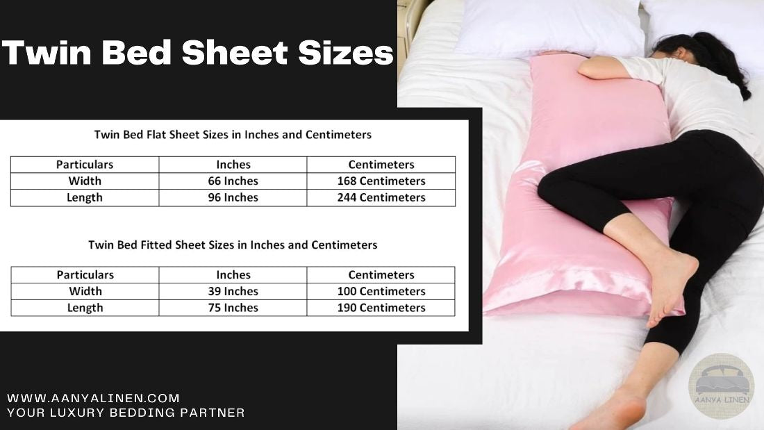 twin bed sheet size