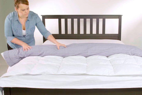 What Goes Inside A Duvet Cover?