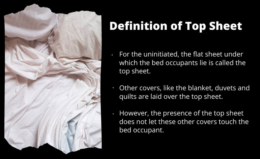 What is a top sheet