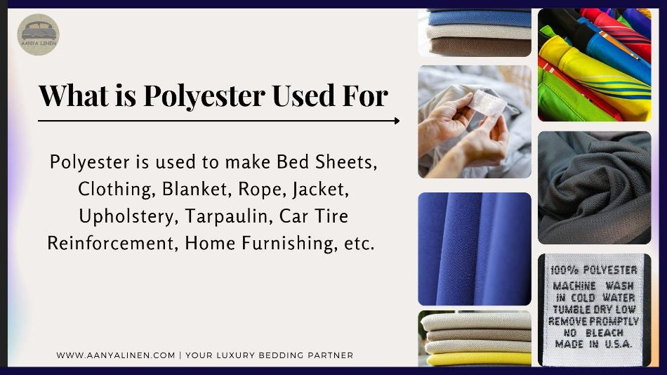 what is polyester used for