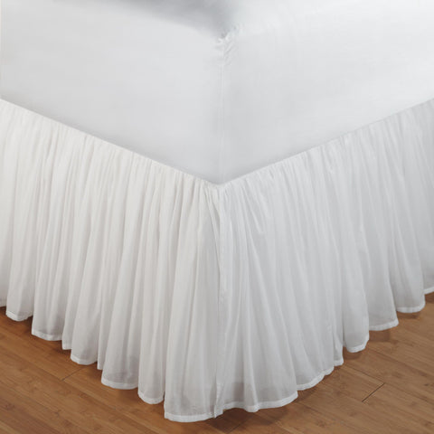 wrap around bed skirt