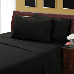 Black Bliss Split Sheet Set-34 inches from The top
