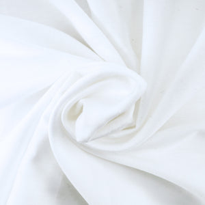Comfy Solid Sateen Sheet Set White