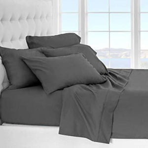 Dark Grey Bliss Split Sheet Set- 34 inches from The top