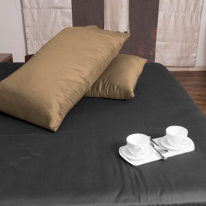 Taupe Pillowcase