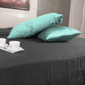 Luxury Aqua Blue Pillowcase