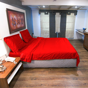 Red Duvet Cover Set