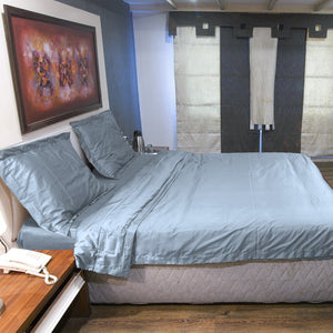 Light Blue Duvet Cover set