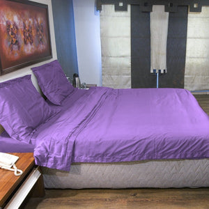 Lilac Duvet Cover Set