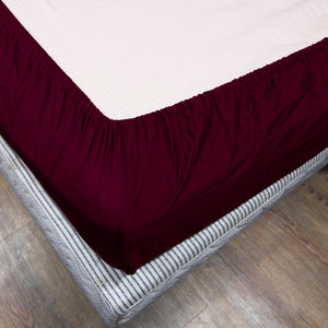 Wine Fitted Sheet