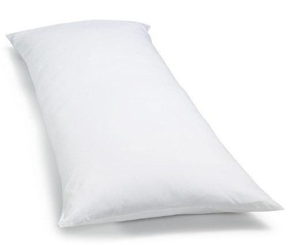 White Body Pillow Cover 20 X 54 Aanyalinen