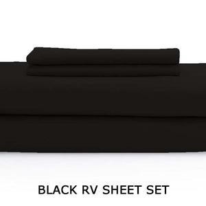 Black RV Sheet Set