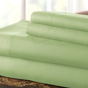 Sage Top Split Sheet Set